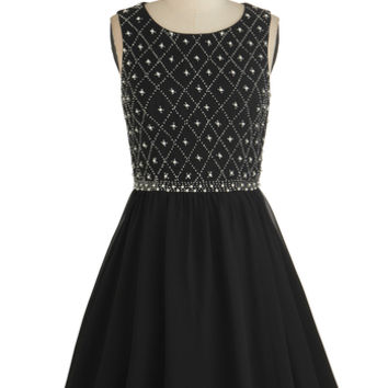 Chi Chi London Mid-length Sleeveless Ballerina Night in Shining Glamour Dress