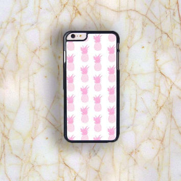 Dream colorful Dream colorful Pink Pineapple Collection Plastic Case Cover for Apple iPhone 6S Plus