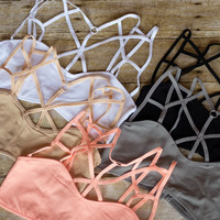 True Love Caged Bralette