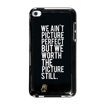 J COLE QUOTE iPod Touch 4 Case Cover