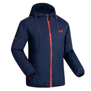 Under Armour Cardigan Jacket Coat Hoodie Windbreaker