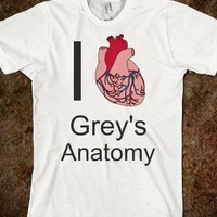I Heart Grey's Anatomy - Prints by Paige