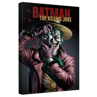 The Joker The Killing Joke Stretched Canvas Wall Art