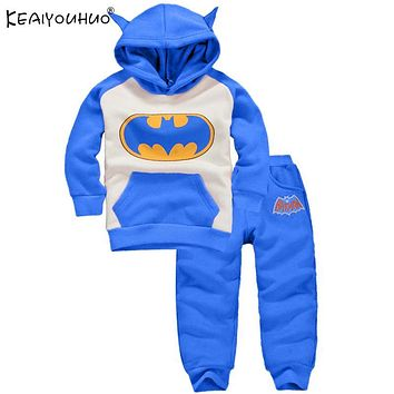 Batman Dark Knight gift Christmas KEAIYOUHUO 2018 Baby Boy Clothes Sets Batman Halloween Baby Outfit Suit Cartoon Newborn Baby Girl Clothes Christmas Boy Clothing AT_71_6
