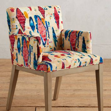 Medina Abstract-Printed Emrys Armchair