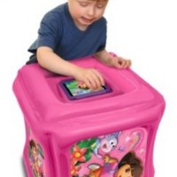 Dora the Explorer Inflatable Play Cube for Kindle Fire (will not fit HD or HDX models)