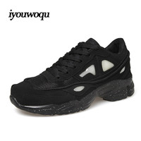 iyouwoqu Brand Men and women Running shoes Outdoor sports raf simons shoes Comfortable and breathable Sneakers Men shoes 1615