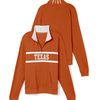 University of Texas Boyfriend Half Zip