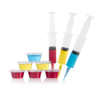 Jello Shot Syringes and Plastic Party Cups with Lids (75 Pack)