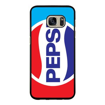 Pepsi Red Blue Samsung Galaxy S7 Case