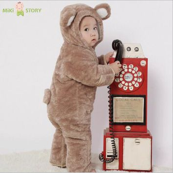 Baby rompers animal new born baby Jumpsuit roupa de baby boys girls clothes bebe recem nascido safe to bite for 0-1 year infant