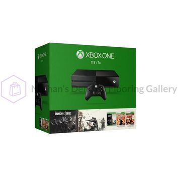 XBOX one 1TB Console Tom Clancys Rainbow SIX Siege Bundle KF7-00146