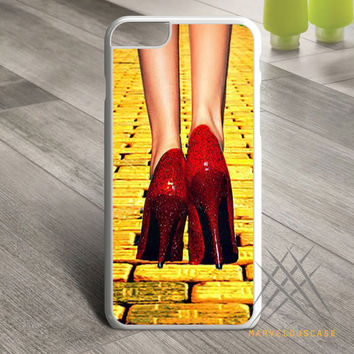 Yellow Brick Road Dorothy Wizard of Oz Inspired Cute Ruby Red Custom case for iPhone, iPod and iPad