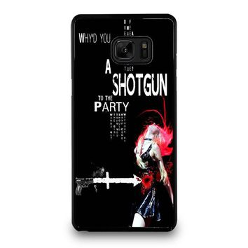 THE PRETTY RECKLESS QUOTES Samsung Galaxy Note 7 Case Cover