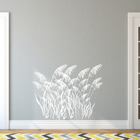 Sea Oats Sea Grass Style B Nautical Vinyl Wall Decal 22423