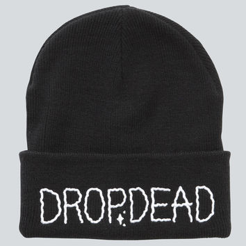 a6ea6aab95f Shakin  Beanie - One Size   Black from drop dead