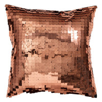 Sequined Cushion Cover - from H&M