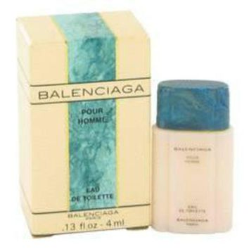 ONETOW balenciaga pour homme cologne by balenciaga for men mini edt 13 oz 2