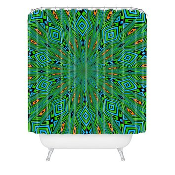 Lisa Argyropoulos Urban Aztec Shower Curtain