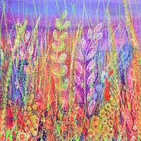 Flower Meadow Art Print by Janice MacDougall