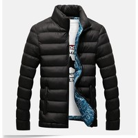 Men's Thick Winter Bubble Jacket