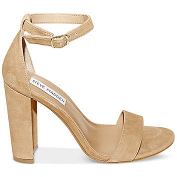 Steve Madden Women's Carrson Ankle-Strap Dress Sandals | macys.com