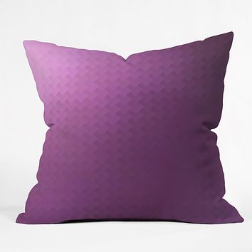 Deniz Ercelebi Fuschia Throw Pillow