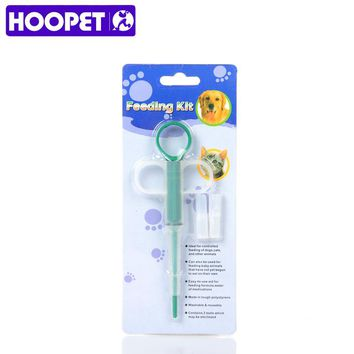 HOOPET pet products New Pet Dog Puppy Cat Tablet Medicine Capsules Pills Feeding Tool Feeder