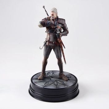 the witcher 3 figure Dark Horse Deluxe The Witcher 3: the witcher figure Wild Hunt: Geralt Figure the witcher 3 figure