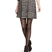 H&M - Lace Tights - Black - Ladies