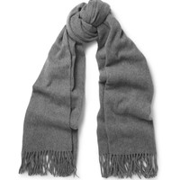 Acne Canada Oversized Brushed-Lambswool Scarf   MR PORTER