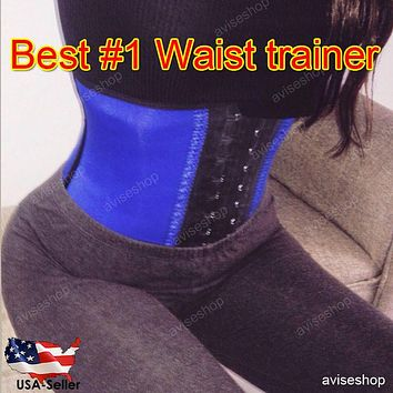 Waist Trainer Slimming Shapewear Training Corsets Cincher Body Shaper Bustier