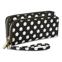 Merona® Dot Wallet with Removable Wristlet Strap - Black