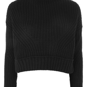 Knitted Crop Jumper | Topshop