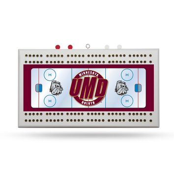 MINNESOTA DULUTH BULLDOGS CRIBBAGE BOARD