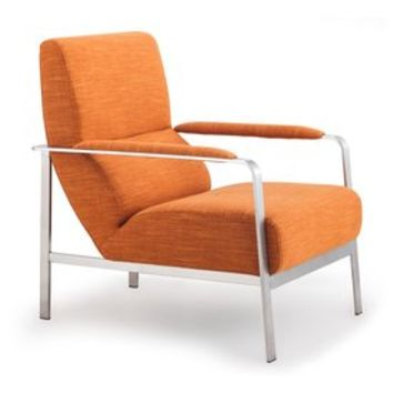 Shop Zuo Modern Jonkoping Modern Sunkist Accent Chair at Lowes.com