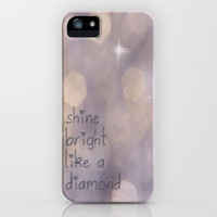 Shine Bright iPhone Case by Ally Coxon | Society6