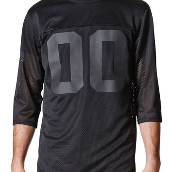 On The Byas Lamar Mesh Jersey - Mens Shirt - Black
