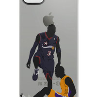 Custom Allen Iverson iPhone 4/4s/5/5s case!