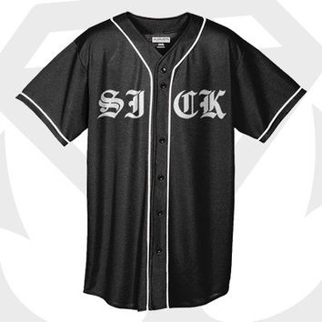 Stay Sick Clothing - SICK Baseball Jersey
