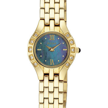 Pulsar Ladies Dress Gold Tone Watch PEG664