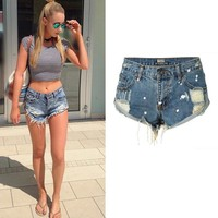 Hippie Denim Shorts