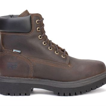 "Timberland Pro 6"" Work Boots Direct Attach Steel Toe Oiled Brown 38021"