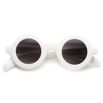 Retro American 1950s TV Show Inspired Round Sunglasses 8980