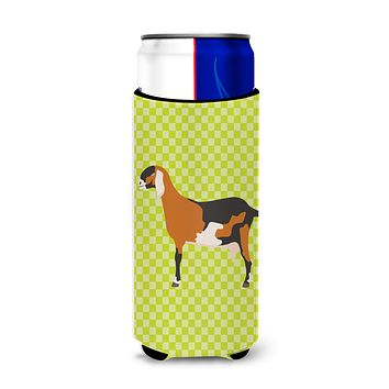 Anglo-nubian Nubian Goat Green Michelob Ultra Hugger for slim cans