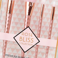 Cala Rose Bliss Make-up Brush Set