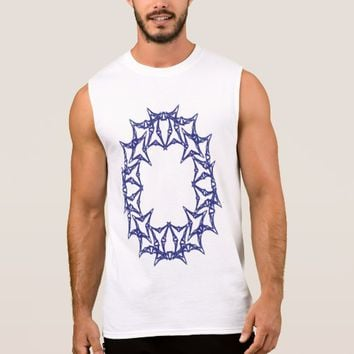 Men's Ultra Cotton Sleeveless Sacred Geometry Sleeveless Shirt