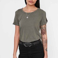 Truly Madly Deeply Twisted Sleeve Tee
