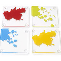 MoMA Store - Paint Drip Coasters