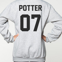 Harry Potter Shirt Sweater Movie DOB Deathly Hallows T-Shirt Sweatshirt Women Tee Unisex Jumper Grey Shirts Size S M L